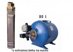 SKM 150 / Tlakový set H / Tlaková nádoba 80L
