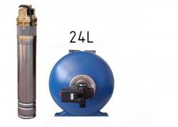 SKM 150 + 24L Tlaková nádoba s tlakovým spínačom
